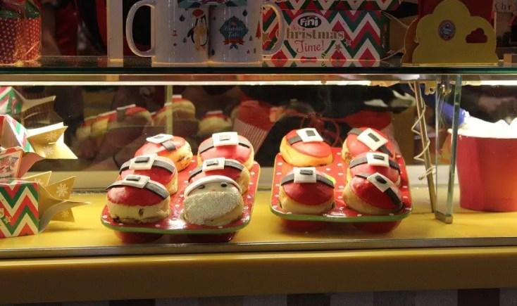 Santa Donuts