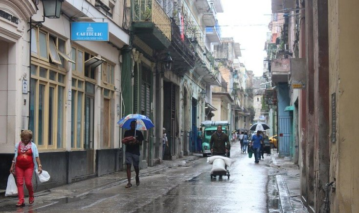 Day to day life in Havana Centro
