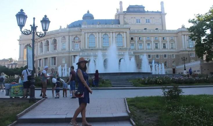 Plimbare pe străzile Odessei, Ucraina