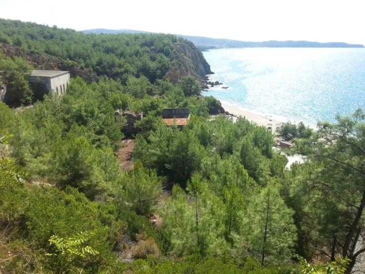 Plaja Metalia, Thassos