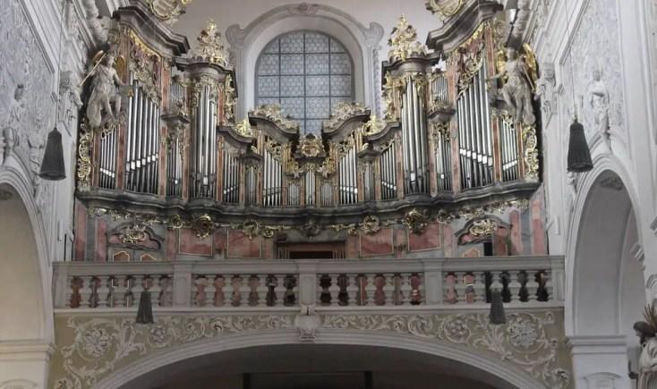 The organ of Oberre Pfarre