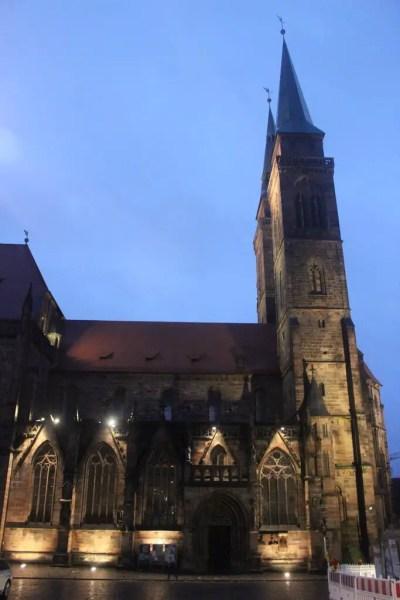 St. Sebaldus cathedral, Nuremberg, Germany