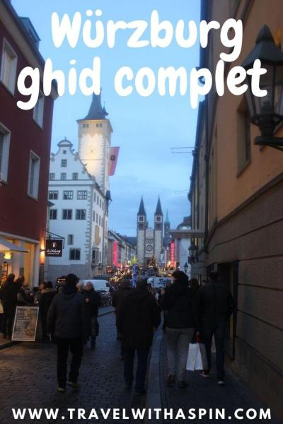 Wurzburg ghid turistic complet Germania