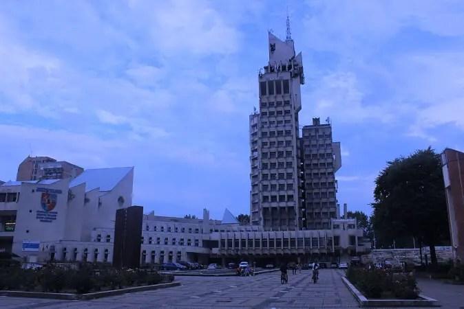Palatul Administrativ Primaria si Consiliul Judetean Satu Mare