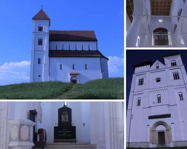 Biserica evanghelică din Herina, Bistrița-Năsăud obiective turistice