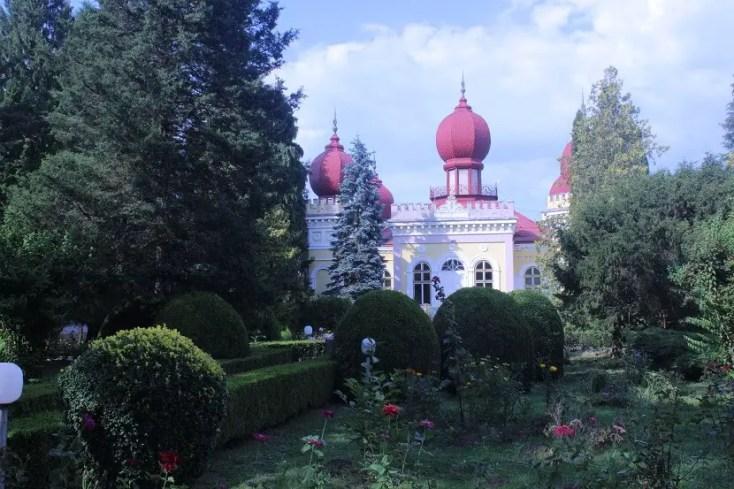 Castelul in stil maur din Arcalia, Bistrița-Năsăud