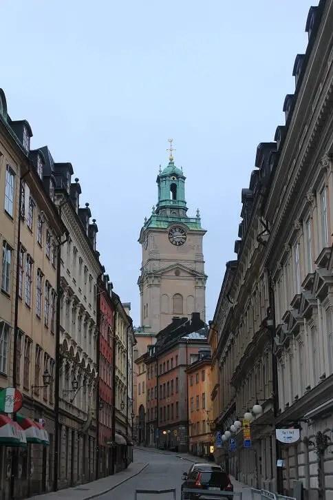 Gamla Stan Turn Stockholm