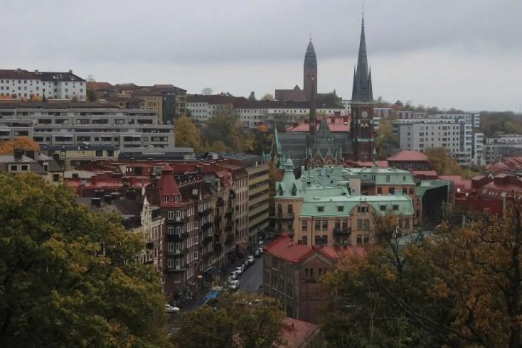 Gothenborg văzut de la Skansen Kronan