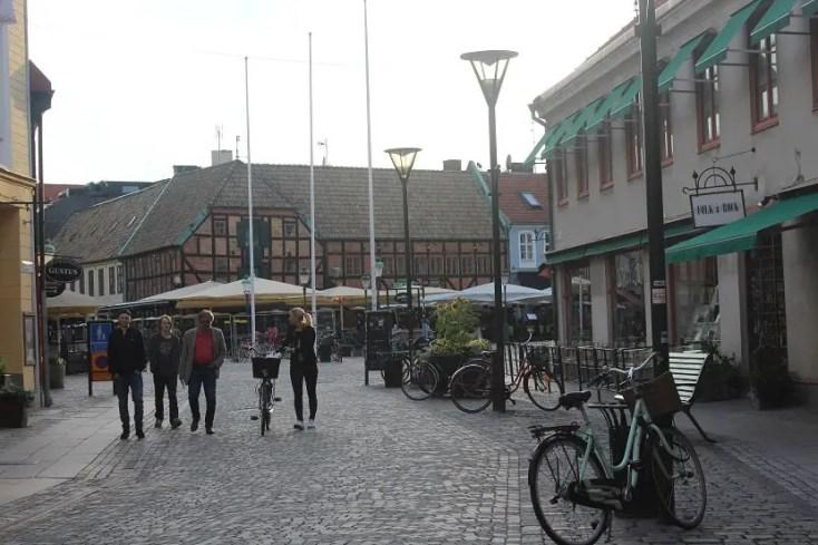 Malmo city center