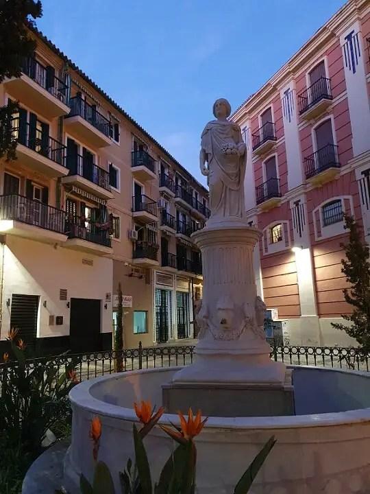 Piața din Malaga Spania