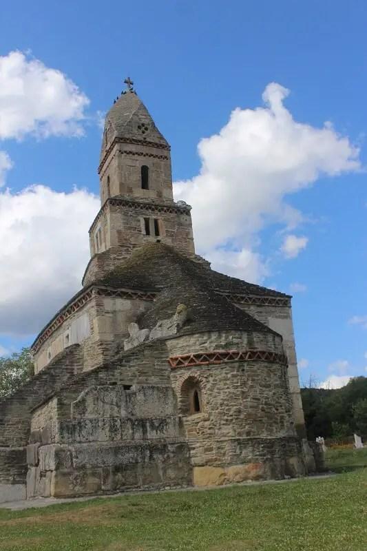 Biserica din Densus, obiective turistice Hunedoara