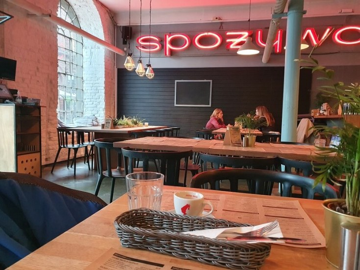 Cool lunch spot in Off-Piotrkowska