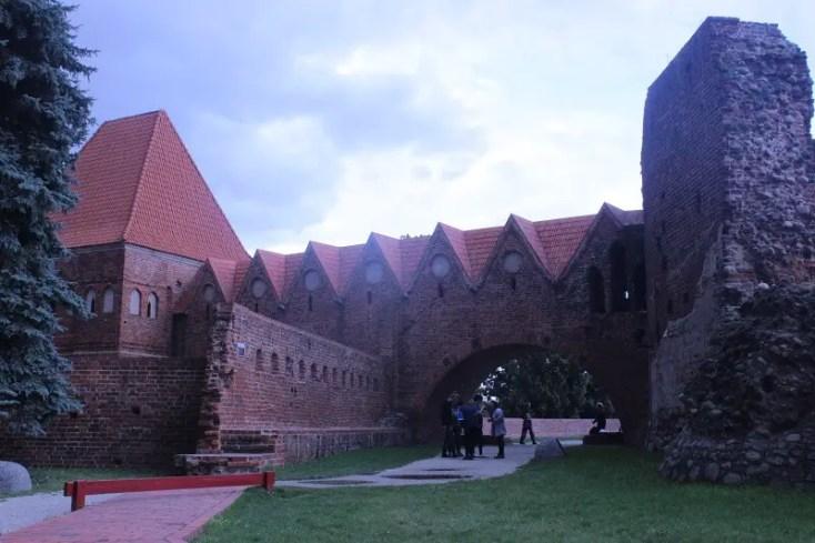 The castle of Torun