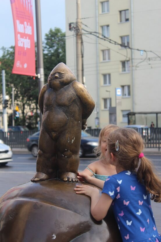 Papa Gnome - the first gnome of Wroclaw