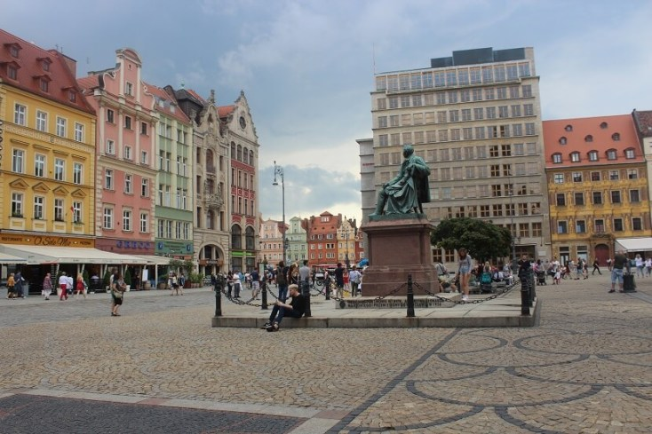 Old Market Square - one of the best things to do when you visit Wroclaw