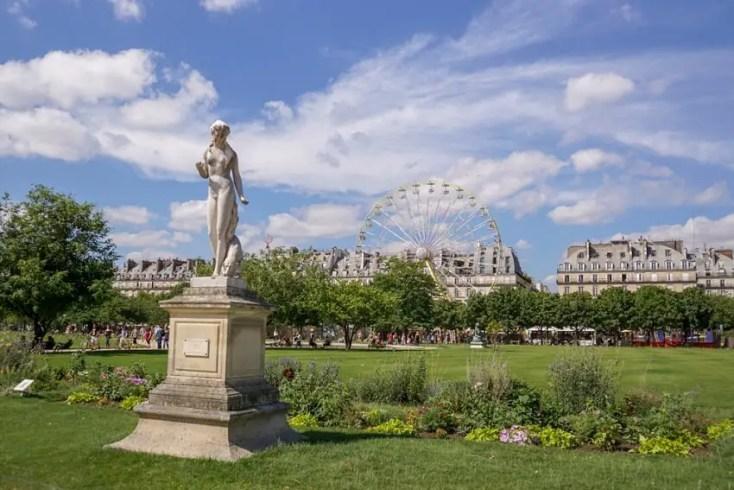 Tuileries Gardens - best attractions in Paris