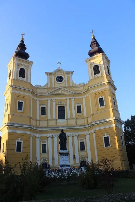 Catedrala din Complexul Baroc, obiective turistice din Oradea