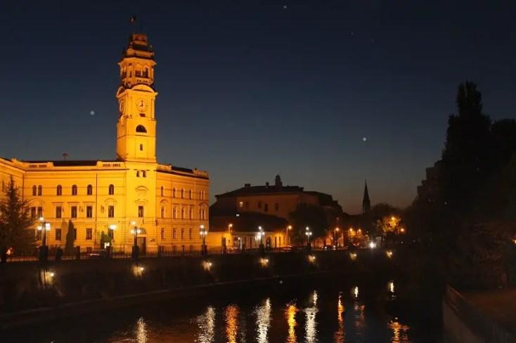 Turnul Palatului Primăriei din Oradea