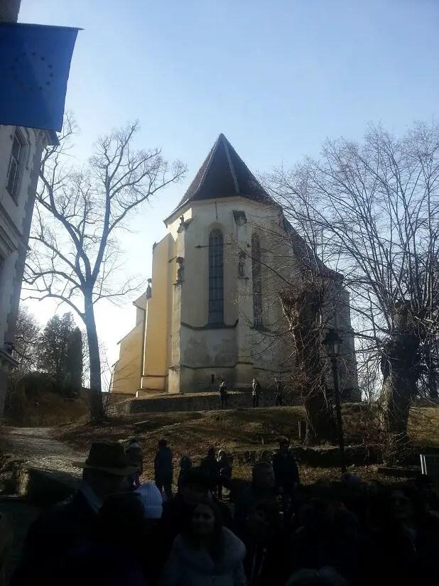 Biserica din Deal, obiective turistice din Sighisoara