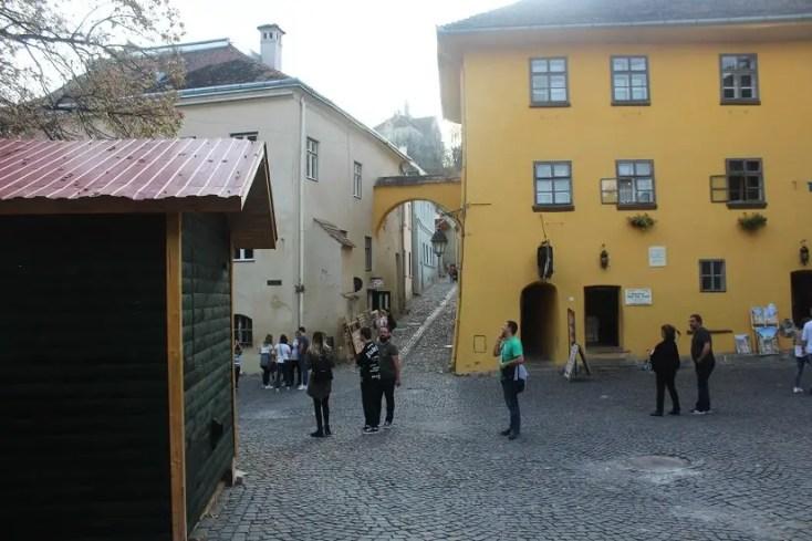 Casa lui Vlad Dracul, obiective turistice din Sighisoara