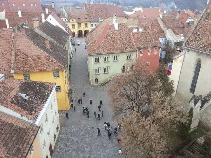Vedere din Turnul cu Ceas