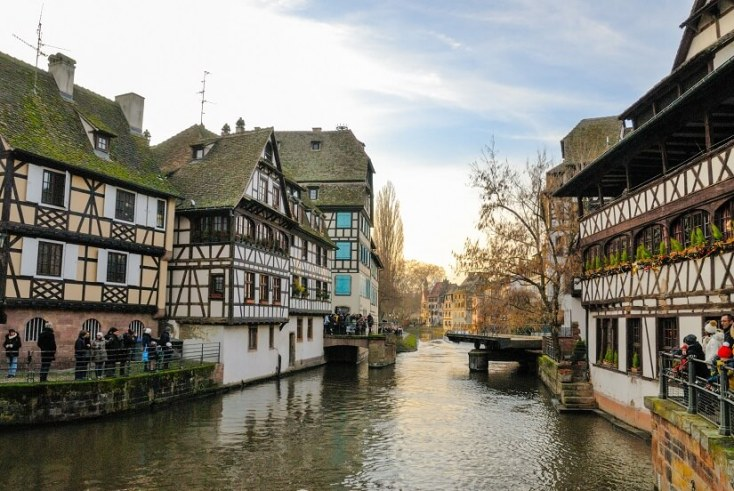 Strasbourg - capitala regiunii Alsacia