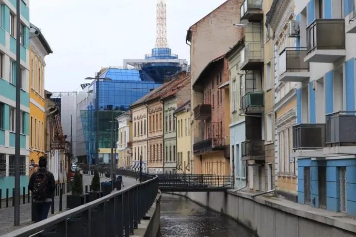 Canalul Morii de pe strada Andrei Saguna