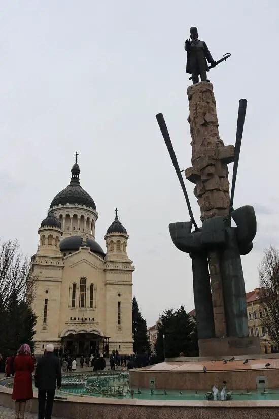 Piata Avram Iancu - Catedrala Ortodoxa