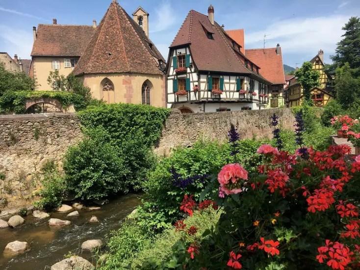 Kaysersberg half-timbered houses