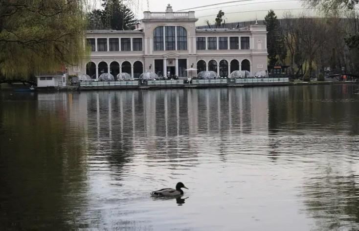 Parcul Central Simion Barnutiu - Lacul Chios - obiective turistice din Cluj-Napoca