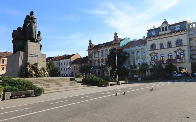 Piata Avram Iancu din Arad