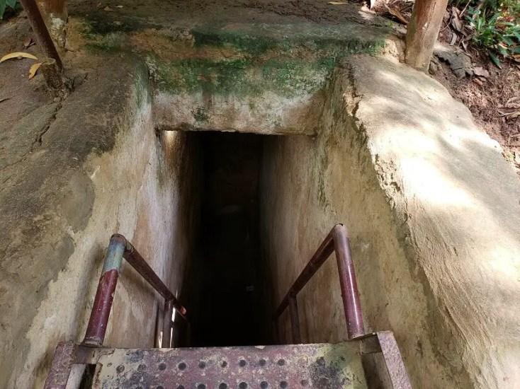 Cu Chi Tunnels - HCMC Vietnam, red tourism and communism around the world