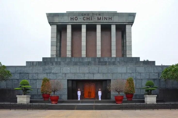 Ho Chi Minh Mausoleum in HanoiCredit:Photo byHans-Jürgen WeinhardtonUnsplash