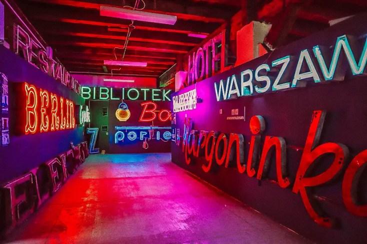 Neon Museum, Warsaw, Poland