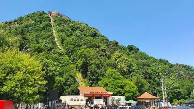 Telecabina Cetate - obiective turistice din Deva