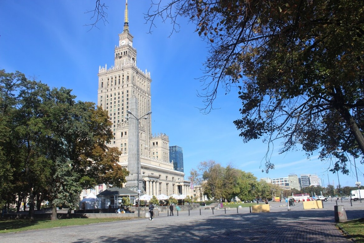Warsaw Palace of Culture - communism and red tourism in Europe