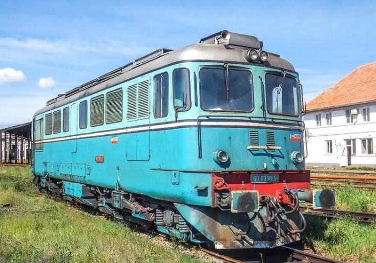 Muzeul de locomotive din Dej