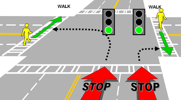 Flashing Yellow Traffic Light Means