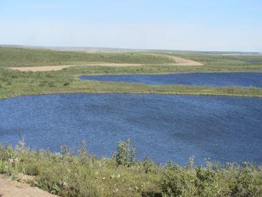 Thaw lakes