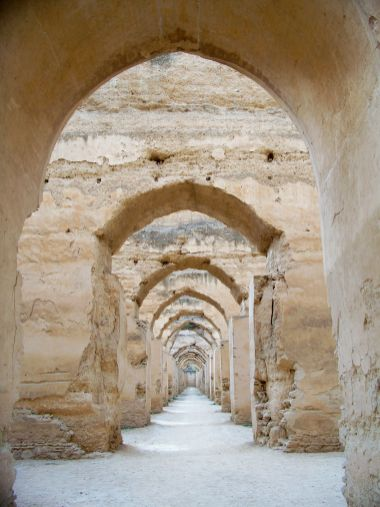 stables for the palace, Imperial city of Meknes