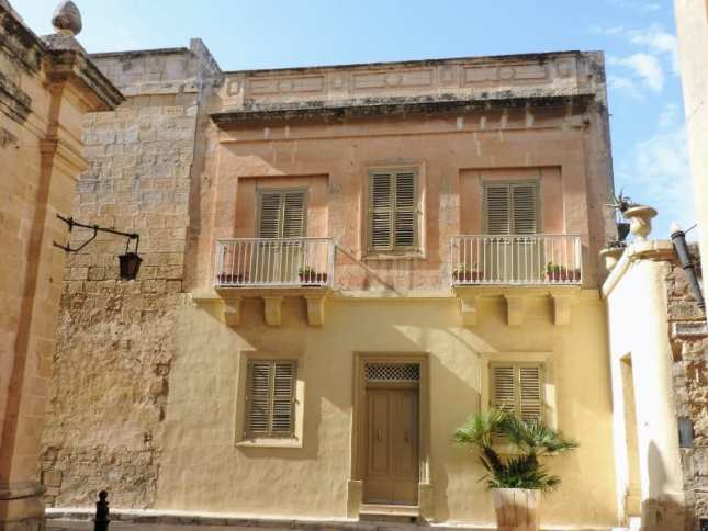Charming buildings of Mdina, Malta