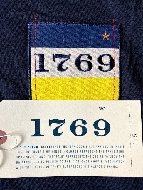 1769 label showing the vision behind the cook brand logo