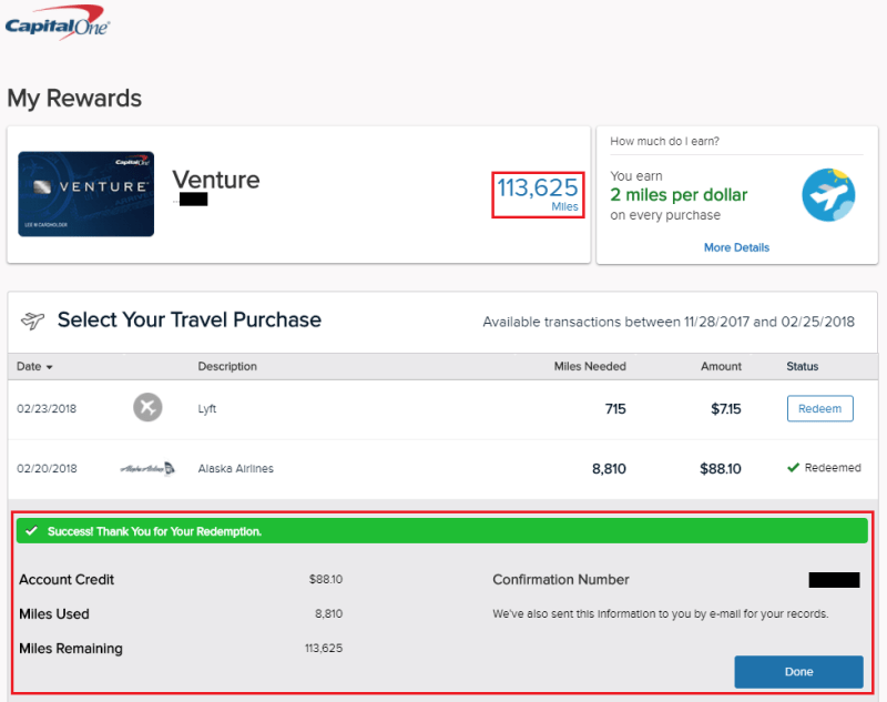 19 Beautiful Capital One Venture Miles Redemption Chart