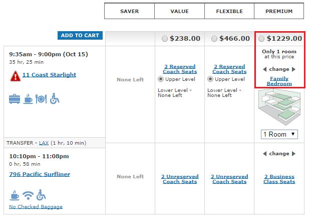 Amtrak Superliner Bedroom Suite Cost   Scifihits.com