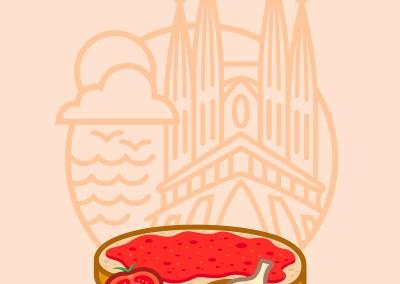 Barcellona WithGusto – Non  solo  pan  con  tomate