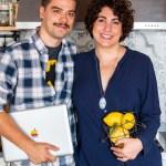 Giulia Scarpaleggia e Tommaso Galli