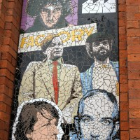 Manchester Icons in Mosaic