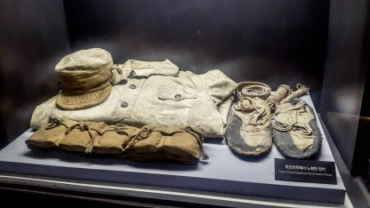 Clothes of the captured enemy