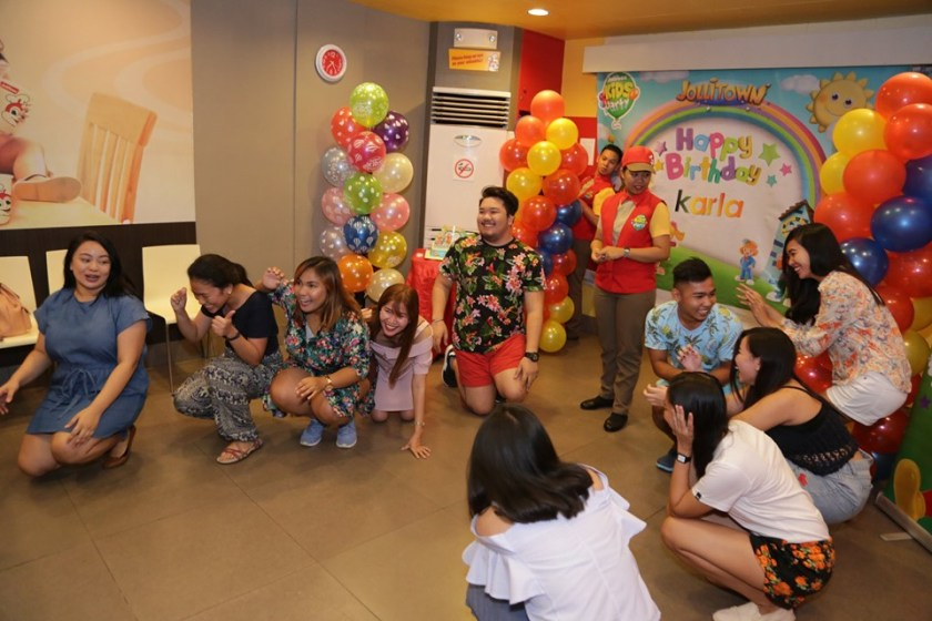 I celebrated my 25th birthday at Jollibee!