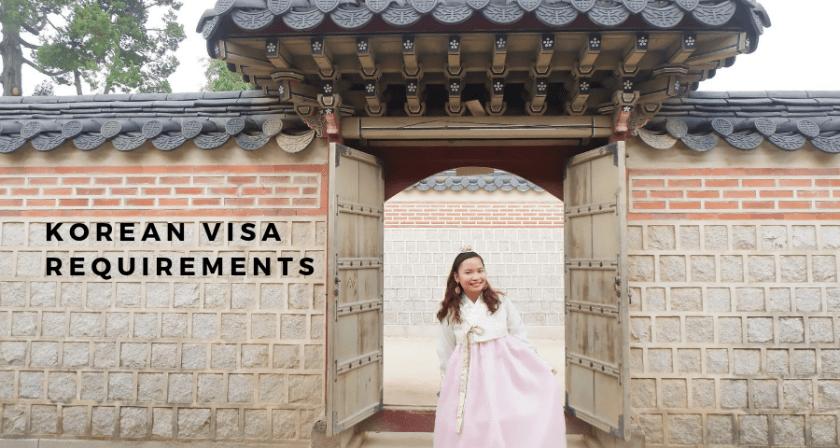Korean Visa Requirements